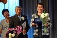В Туве честь Дня семьи, любви и верности награждены 14 образцовых семейных пар