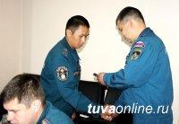 В Туве вручены ведомственные награды сотрудникам госинспекции по маломерным судам