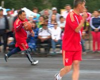 Дружеский матч по баскетболу чуть не довел команды Правительства Тувы и Кызылского района до разборок