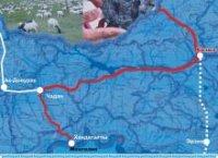 Правительство России рассмотрит изменение направления трассы М-54 на запад Тувы