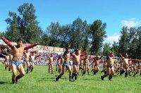 Турнир по борьбе хуреш 6 сентября на Наадыме в Туве соберет 256 борцов
