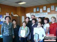 Всем лауреатам конкурса стихов «Юбилейный Кызыл» от депутатов Хурала представителей города – юбилейные знаки