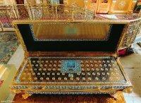 Ковчег с мощами Киево-Печерских святых передается в дар православным Тувы