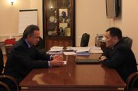 Глава Тувы договорился с министром спорта РФ о дальнейшем финансировании строительства крупного спортивно-культурного центра