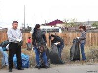 Месячник по благоустройству в Кызыле