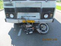 В Туве увеличилось количество ДТП с участием мотоциклистов