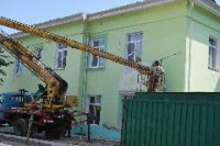 В 13 многоквартирных домах Кызыла - в разгаре капремонт