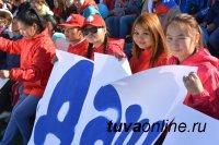 Молодежь Таймыра (устье Енисея) поприветствовала Кызыл (исток Енисея) в День Великой реки мощным «Экии!»