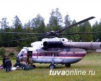 Борьба с лесными пожарами в Туве продолжается
