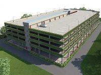 В Кызыле объявлен конкурс на проект многоуровневого гаража
