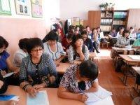 Учителя русского языка школ Кызыла поделились опытом с коллегами из Эрзинского кожууна