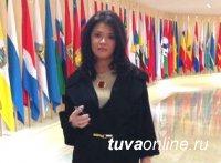 Сенатор от Тувы Оксана Белоконь начала работу в Совете Федерации
