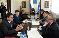 Глава Тувы провел рабочую встречу с ректором Сибирского государственного университета путей и сообщения