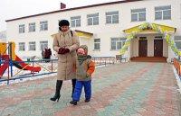 В Каа-Хемском районе Тувы построены два новых детских сада, возводится третий