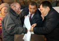 Глава Тувы встретился с чабанами Каа-Хемского района