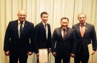 Глава Тувы встретился с земляками - студентами Уральского государственного юридического университета