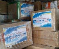 Жители Тувы отправили новогодние подарки детям Новороссии