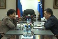 Глава Тувы провел рабочую встречу с руководителем ГУП «Моген-Бурен» Ошку-Саар Ооржак