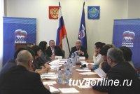 Кан-оол Даваа встретился с активом регионального отделения «Единой России»