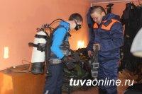 Кызыл: Полезно-праздничная встреча накануне Дня спасателя