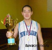 Кубок Первенства Тувы по баскетболу у гимназии №5 города Кызыла