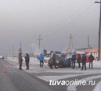 В Кызыле в результате ДТП пострадал ребенок-пассажир