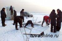 Кызыл: На Вавилинском затоне ведутся последние приготовления к Крещенским купаниям