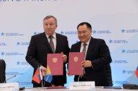 Тува и Алтайский край подписали на КЭФ-2015 соглашение о сотрудничестве
