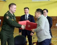 Правительство Тувы и ЦСКА подписали соглашение о сотрудничестве