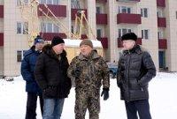 Глава Тувы проинспектировал ход работ на основных строительных площадках республики