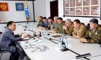 Глава Тувы Шолбан Кара-оол встретился с ветеранами боевых действий