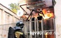 В Кызыле потушен пожар на трансформаторной подстанции