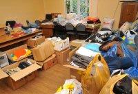 В Туве объявлен сбор гуманитарной помощи для пострадавших от пожара жителей соседней Хакасии