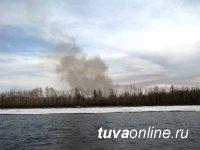 За сутки в Туве ликвидировано 4 лесных пожара
