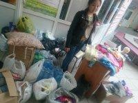 В УСК «Субедей» (Кызыл) продолжается сбор вещей для погорельцев из Хакасии