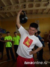 Ко Дню местного самоуправления в Кызыле прошли Веселые старты