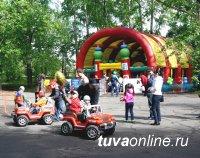 C 1 мая в Кызыле заработает парк аттракционов в Молодежном сквере