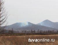 В Бай-Тайгинском кожууне пожар ликвидирован, возник новый - в Эрзинском кожууне Тувы