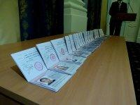 Ко Дню конституции школьникам Кызыла вручили паспорта
