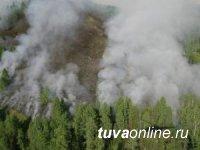 В Туве введен режим ЧС в лесах