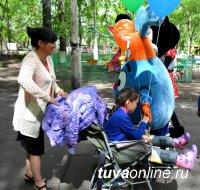 Кызыл: Гигантские пузыри, песочное шоу, концерт, сладости и много общения – для детей с ограниченными возможностями