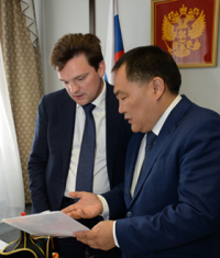Минэкономразвития России получил заявку ВТБ на госгарантии для финансирования проекта строительства тувинской железной дороги из ФНБ