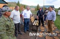 В Туве в мараловодческом хозяйстве «Туран» началась первая срезка пантов