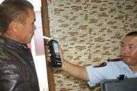 С начала года в Туве задержаны более 2000 нетрезвых водителей