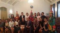 Глава Тувы встретился со студентами вузов Санкт-Петербурга