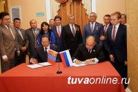 Сенатор Мерген Ооржак принял участие во встрече российских и монгольских парламентариев по приграничному сотрудничеству
