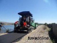 Кызыл: Идет строительство велодорожки по берегу реки Енисей