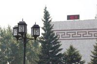 В столице Тувы 42 градуса жары