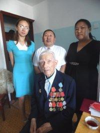 90 лет отмечает ветеран Великой Отечественной войны Пешков Илья Константинович
