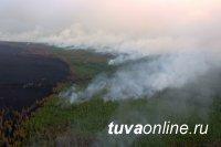 Тува. Режим ЧС. Действуют 11 лесных пожаров
